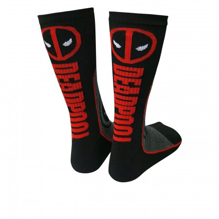 Deadpool Symbol Athletic Socks