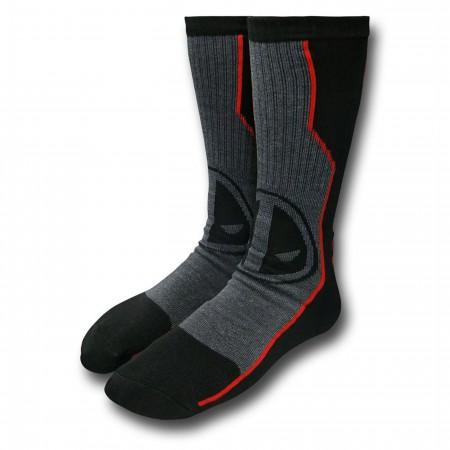 Deadpool Symbol Athletic Socks