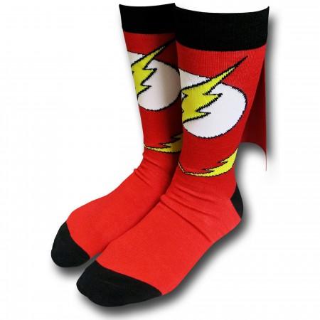 Flash Caped Crew Socks