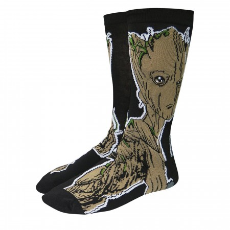 Infinity War GOTG Groot Crew Socks