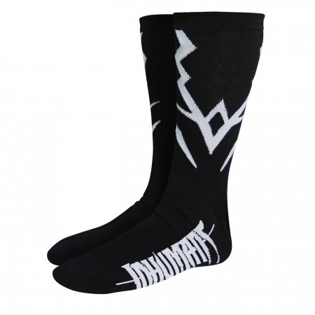 Inhumans Black Bolt Costume Crew Socks