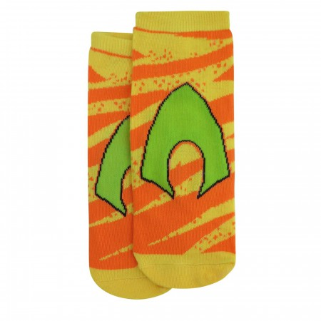 Justice League Abstract Women's Low-Cut Sock 6 Pack