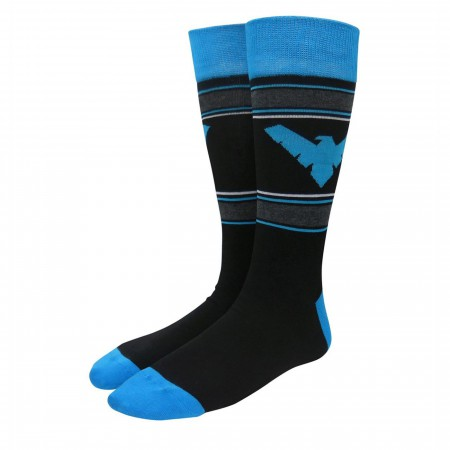 Nightwing Athletic Crew Socks