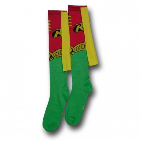 Robin Socks w/Capes Women's Knee-Highs