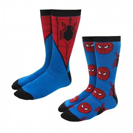 Spider-Man Homecoming Crew Socks 2-Pack