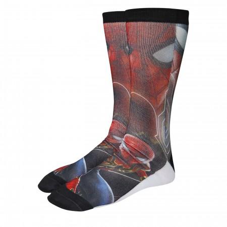 Spider-Man Infinity War Photoreal Socks 2-Pack