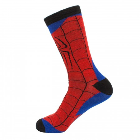 Spider-Man Webbed Costume Crew Socks