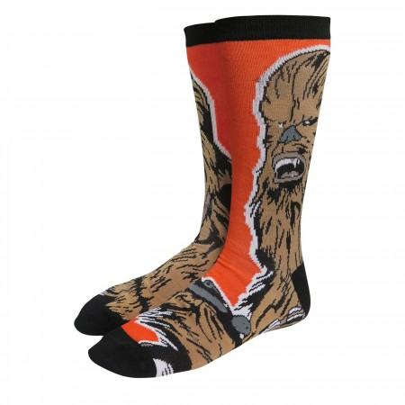 Star War Chewbacca & Porg Sock 2-Pack