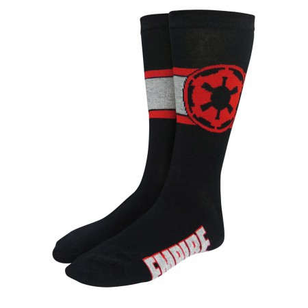 Star Wars Empire Imperial Crest Crew Socks