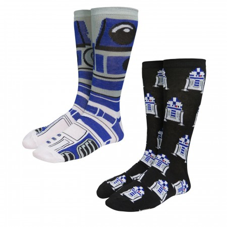 Star Wars R2-D2 Crew Socks 2-Pack
