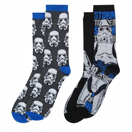 Star Wars Stormtroopers Crew Socks 2-Pack