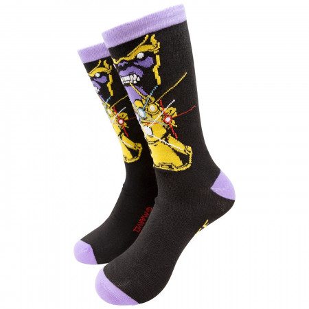Thanos Infinite Power Crew Sock