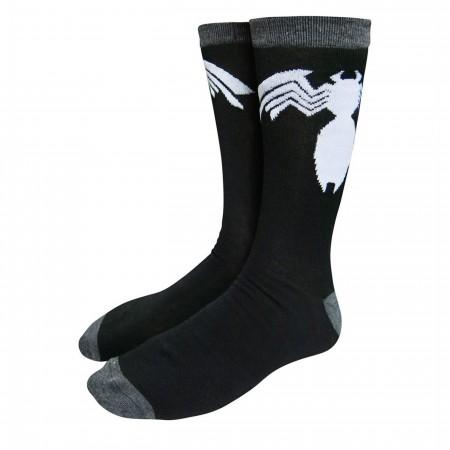 Venom Symbol Crew Socks
