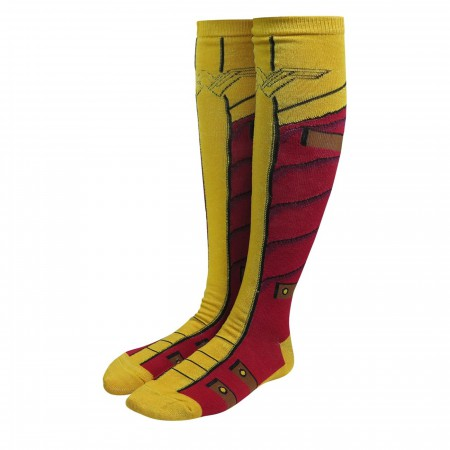 Wonder Woman Movie Armor Women's Knee High Socks