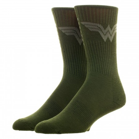 Wonder Woman Salute To Service Athletic Crew Socks