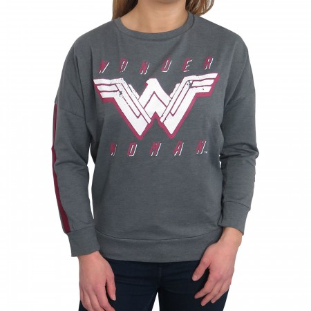 Wonder Woman Dye Heather Women's Sweatshirt
