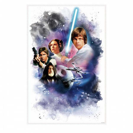Star Wars Classic Poster Mega Wall Decal