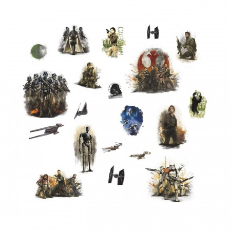 Star Wars Rogue One Peel and Stick Wall Decals