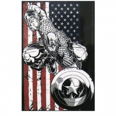 Captain America Patriot Sticker