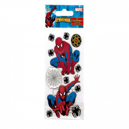 Spiderman Image and Webs Sticker Pack