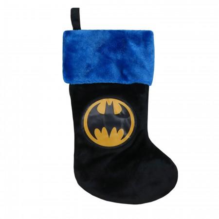 Batman Symbol Christmas Stocking
