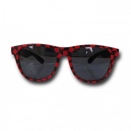 Harley Quinn Logo Pattern Sunglasses