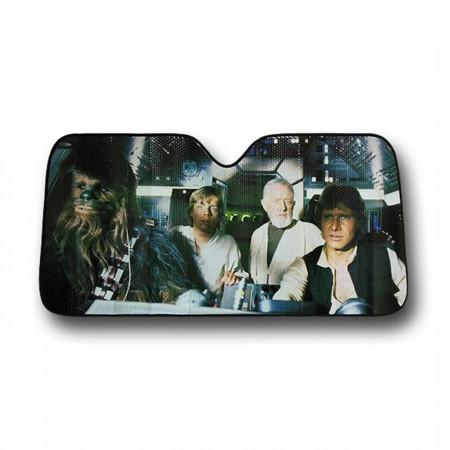 Star Wars New Hope Car Sunshade
