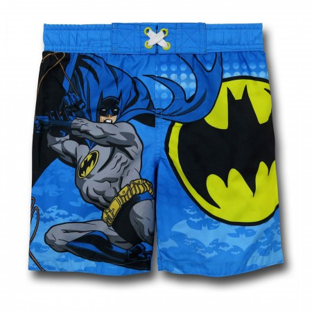 Batman Kids Swim Trunks