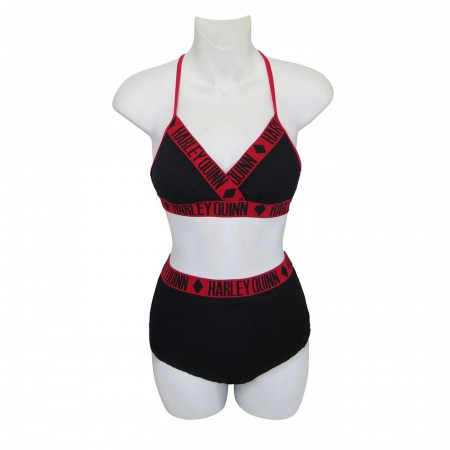 Harley Quinn High Waist Bikini