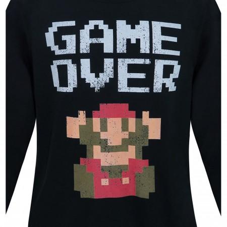 Nintendo Super Mario Bros. Game Over Men's Sweatshirt