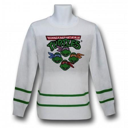 TMNT White Sweater