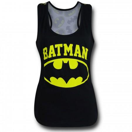 Batman Symbol All-Over Print Women's Tank Top
