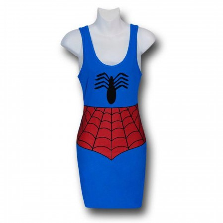 Spiderman Costume Women's Tank Dress