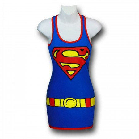 Supergirl Women's Costume Tank Dress