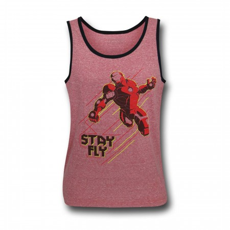 Iron Man Stay Fly Kids Tank Top