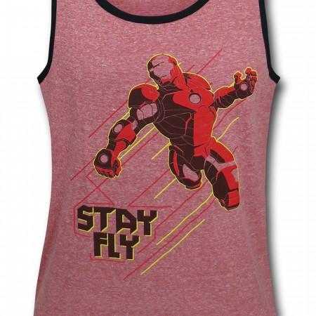 Iron Man Stay Fly Kids Tank Top