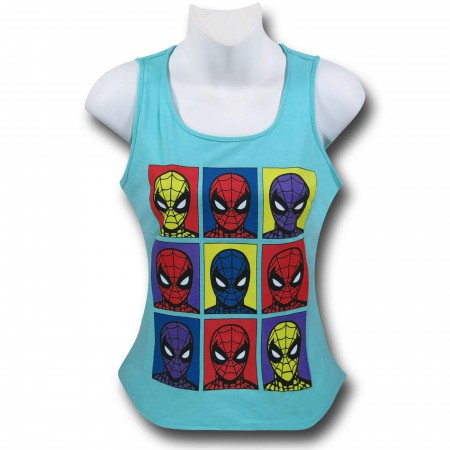 Spiderman Pop Boxes Women's Tank Top