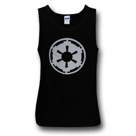 Star Wars Empire Logo Black Tank Top