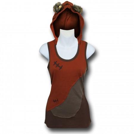 Star Wars Ewok Women's Tank Hoodie
