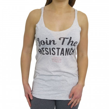 Star Wars Join the Resistance Racerback Women's Tank Top