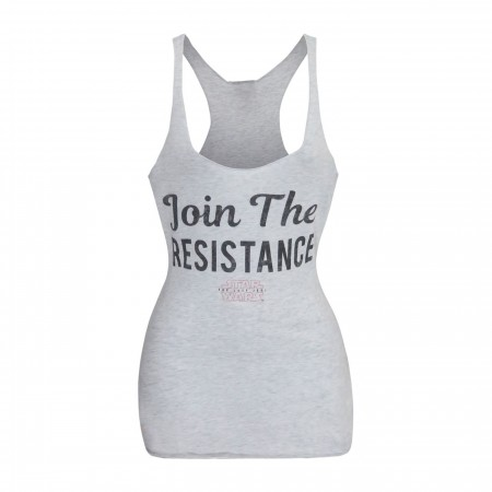 Star Wars Join the Resistance Racerback Women's Tank Top