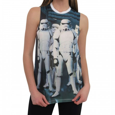 Star Wars Trooper Group Women's Tank Top