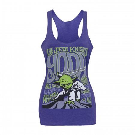 Star Wars Yoda & The Jedi Knights Women's Tank Top