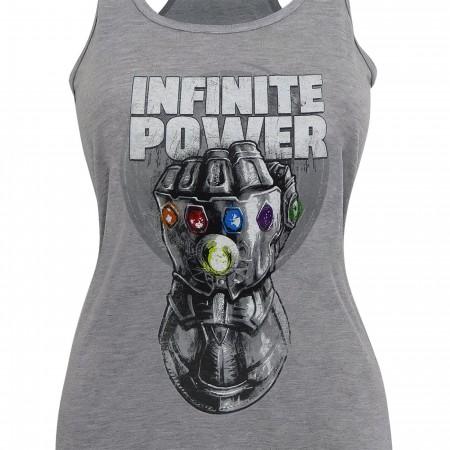 Infinity War Thanos Infinite Power Women's Tank Top