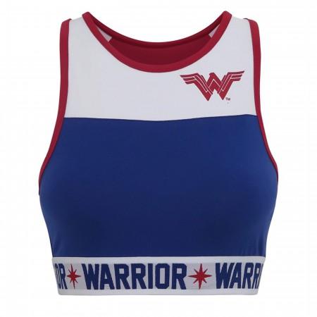 Wonder Woman Warrior Women's Sports Bra