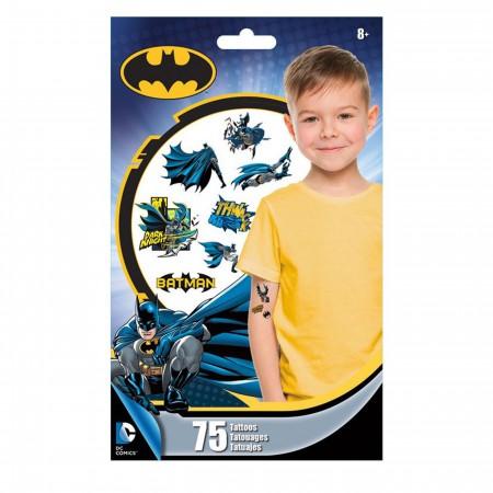 Batman Temporary Tattoo 75-Pack