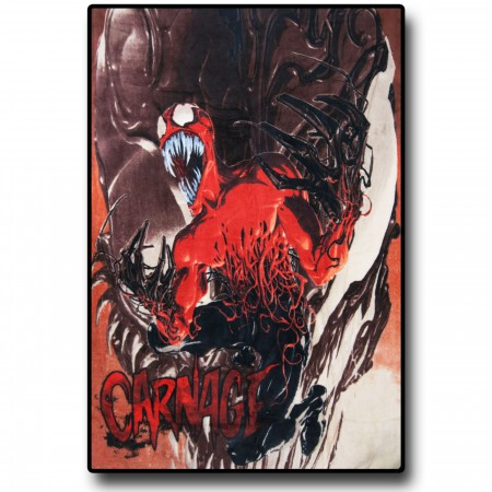 Carnage Fleece Throw Blanket