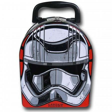Star Wars Force Awakens Phasma Mask Lunchbox