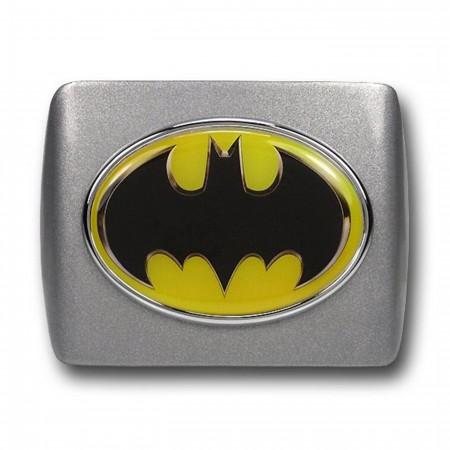 Batman Oval Symbol Powder Coated Trailer Hitch Plug