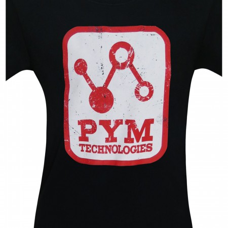 Pym Tech Distressed Logo Men's T-Shirt